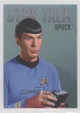 2014 Rittenhouse Star Trek: The Original Series Portfolio Prints - Bridge Crew Portraits #RA2 - Spock
