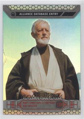 2014 Topps Star Wars Chrome Perspectives - [Base] - Refractor #12R - Ben Obi-Wan Kenobi