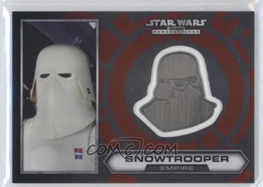 2014 Topps Star Wars Chrome Perspectives - Helmet Medallion - Silver #19 - Snowtrooper