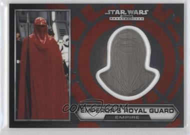 2014 Topps Star Wars Chrome Perspectives - Helmet Medallion - Silver #29 - Emperor's Royal Guard