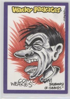 "2014 Topps Wacky Packages Series 1 - Sketch Cards #VIDI - Vincenzo ""Chenduz"" D'lppolito (Weakies) /1"