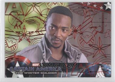 2014 Upper Deck Captain America: The Winter Soldier - [Base] - Red Patriotic Foil #83 - Captain America: The Winter Soldier /99