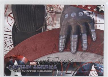 2014 Upper Deck Captain America: The Winter Soldier - [Base] - Red Patriotic Foil #89 - Captain America: The Winter Soldier /99