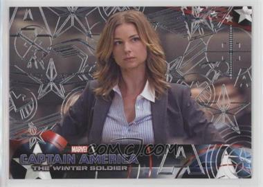 2014 Upper Deck Captain America: The Winter Soldier - [Base] - Silver Patriotic Foil #45 - Captain America: The Winter Soldier