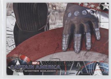 2014 Upper Deck Captain America: The Winter Soldier - [Base] - Silver Patriotic Foil #89 - Captain America: The Winter Soldier