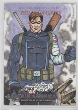 2014 Upper Deck Captain America: The Winter Soldier - Character Sketch Cards #CC-11 - Winter Soldier /1