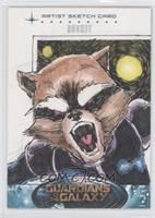 Rocket Raccoon (Dan Borgonos) #/1