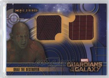 2014 Upper Deck Guardians of the Galaxy - Cosmic Strings Memorabilia #CS-2 - Drax The Destroyer