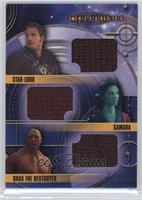 Star-Lord, Gamora, Drax the Destroyer