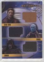 Star-Lord, Yondu, Ronan