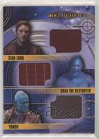 Yondu, Star-Lord, Drax The Destroyer