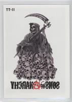 Grim Reaper on Skulls