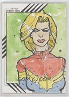 Rachele Aragno, Captain Marvel /1