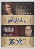Julie Gonzalo, Steve Schirripa #/99