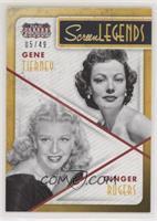 Ginger Rogers, Lana Turner #/49