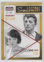 Lillian Gish, Robert Mitchum /49