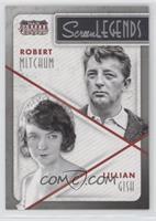 Lillian Gish, Robert Mitchum