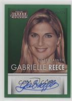 Gabrielle Reece #/25