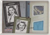 Ingrid Bergman, Lana Turner #/25
