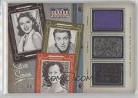 Hedy Lamarr, Jimmy Stewart, Lana Turner #/49
