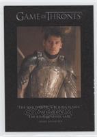 Jaime Lannister, The Hound, Arya Stark