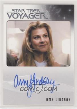 2015 Rittenhouse Star Trek Voyager Heroes and Villians - Autographs #AMLI - Amy Lindsay as Lana