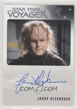 2015 Rittenhouse Star Trek Voyager Heroes and Villians - Autographs #JAAL - Jason Alexander as Kurros