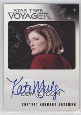 2015 Rittenhouse Star Trek Voyager Heroes and Villians - Autographs #KAMU - Kate Mulgrew as Captain Kathryn Janeway