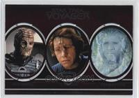 Hirogen, Ilarian, Inheritor, Kazon, Klingon, Kobali