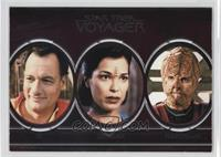 Q, Qomar, Rakosan, Repto-Humanoid, Romulan, Sakari