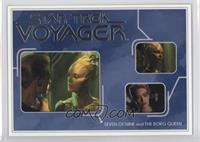 Seven of Nine and The Borg Queen