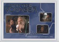 Captain Janeway and Leonardo Da Vinci