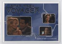Seven of Nine and Chakotay