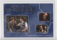 Captain Janeway and Michael Sullivan