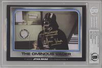 The Ominous Vader [BAS Certified Encased by BGS]