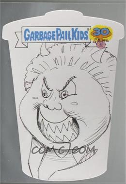 2015 Topps Garbage Pail Kids 30th Anniversary - Die-Cut Sketch Cards #MAPI - Mark Pingitore /1