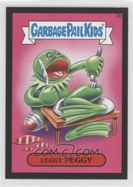 2015 Topps Garbage Pail Kids Series 1 - [Base] - Collector Pack Canvas Texture #3b - Leggy Peggy