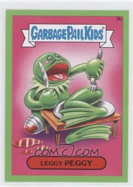 2015 Topps Garbage Pail Kids Series 1 - [Base] - Retail Green #3b - Leggy Peggy