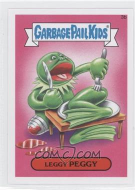 2015 Topps Garbage Pail Kids Series 1 - [Base] #3b - Leggy Peggy