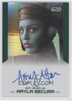 Amy Allen as Aayla Secura /50