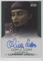 Olivia d'Abo as Luminara Unduli #/25