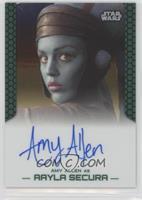 Amy Allen as Aayla Secura