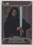 Barriss Offee #/99