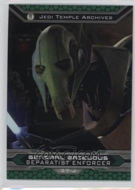 2015 Topps Star Wars Chrome Perspectives: Jedi vs. Sith - [Base] #37-J - General Grievous