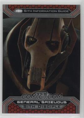 2015 Topps Star Wars Chrome Perspectives: Jedi vs. Sith - [Base] #37-S - General Grievous