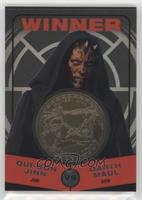 Qui-Gon Jinn, Darth Maul #/50