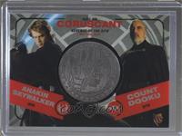 Anakin Skywalker, Count Dooku (Horizontal) #/150