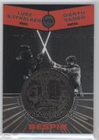 Luke Skywalker, Darth Vader #/150