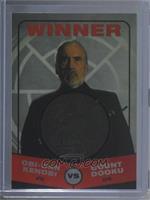 Obi-Wan Kenobi, Count Dooku (Winner) #/150