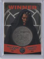 Qui-Gon Jinn, Darth Maul (Winner) #/150